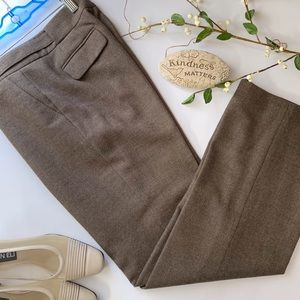 Ann Taylor Margo Wool Lined Trousers Dress Pants